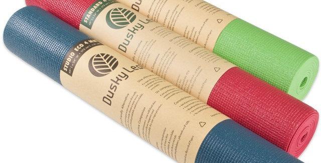 Dusky Leaf Eco Yoga Mat