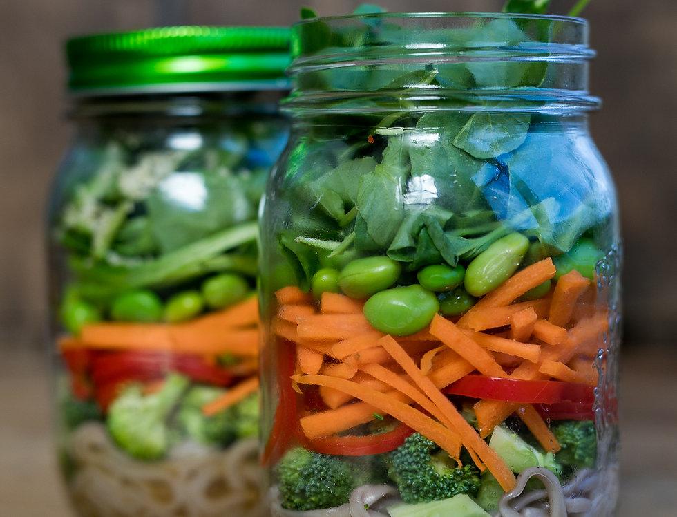 Sans Kitchen Salad Jar -- Nagano Noodle