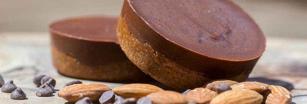 Sans Kitchen Chocolate Almond Butter Cups