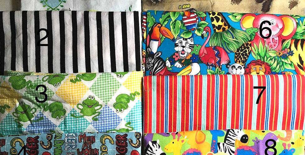 Log Cabin Sewing Cloth Masks -- for KIDS!