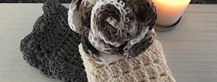 Rawdon Creek Soap Hand Crocheted  Washcloth