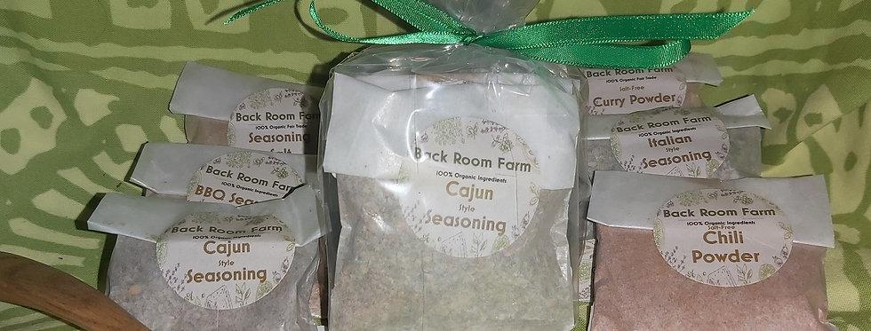 Back Room Farm Organic Spice Gift Set