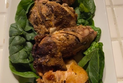Ron's Rauchhaus Piri Piri Smoked Chicken Thighs