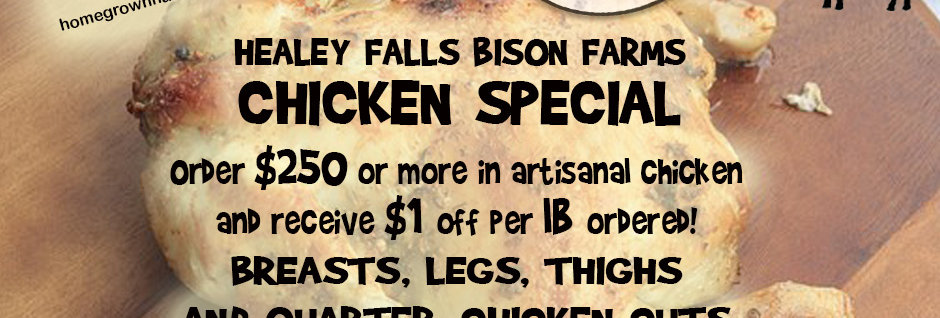 Healey Falls Artisanal Chicken - Cut