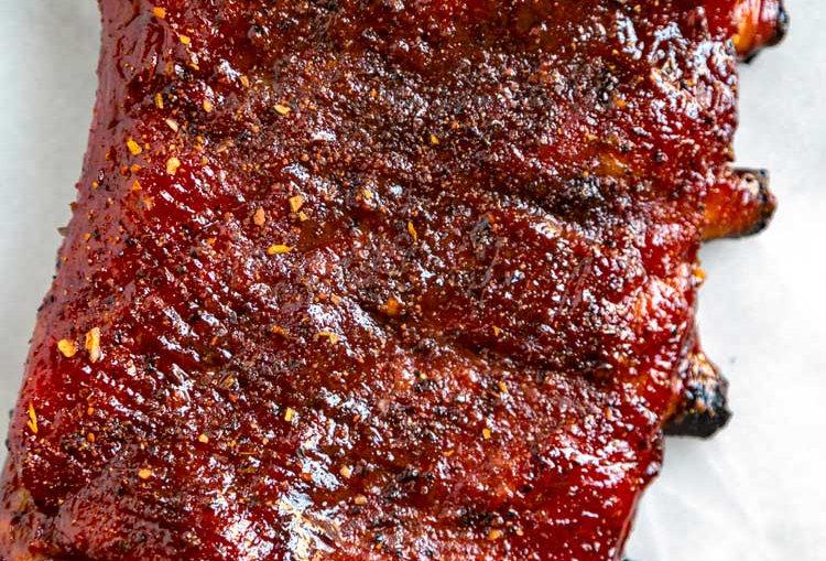 Ron's Rauchhaus BBQ Pork Ribs