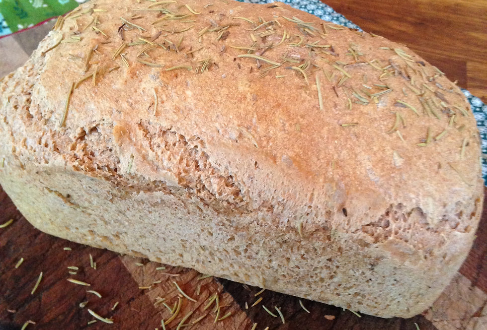 Erin's Wholesome Spelt Rosemary Bread