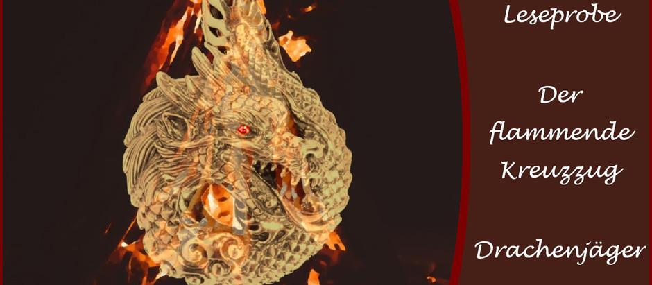 Buch: Der flammende Kreuzzug - Drachenjäger
