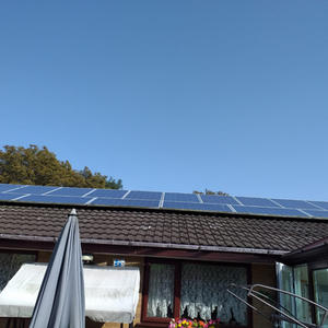 Maureen leads way by going solar powered