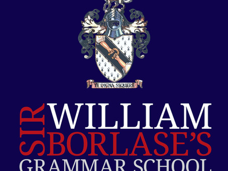 Admissions Policy for Sir William Borlese Grammar School