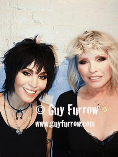 """Joan Jett and Debbie Harry - 11"""" x 14"""""""