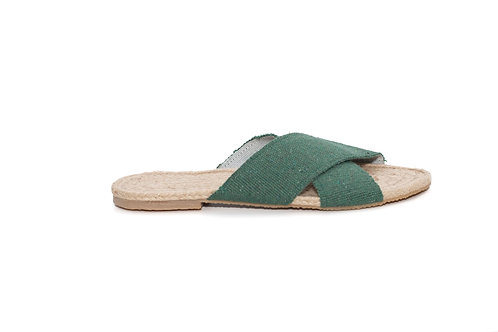 Sandália Mestiça Verde