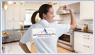 Maid in North Carolina, Inc House Cleaning Service Green