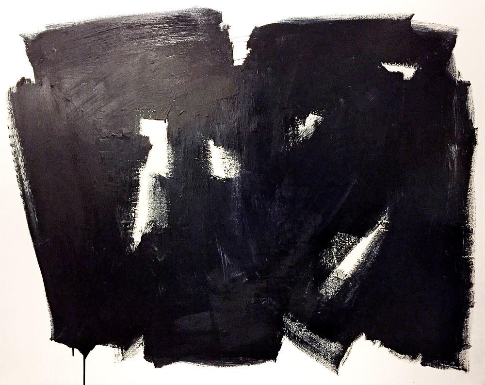 """48""""x60"""" acrylic on canvas"""