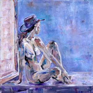 By a Blue Window