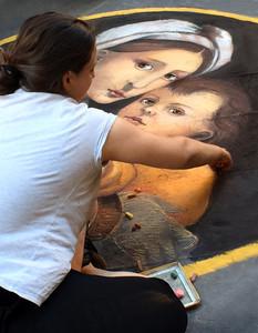 Sidewalk Artist