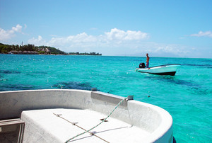 Boating Fun in Bora Bora