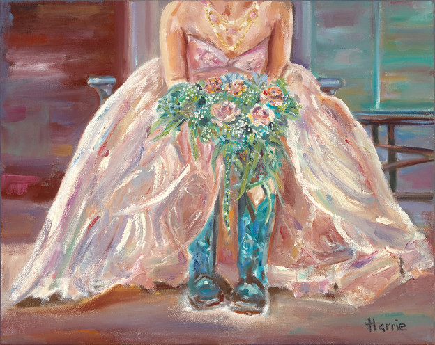 The Bride Wore Cowboy Boots