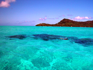 Water Fun in Bora Bora