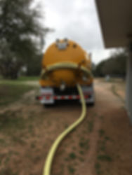 Preparing to pump a septic system
