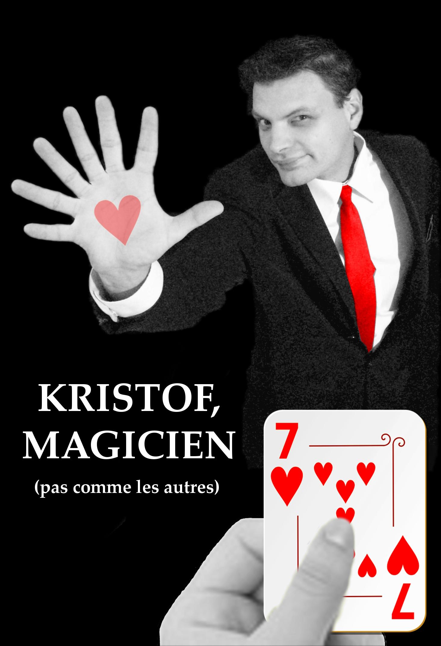 Kristof Magicien pas comme les autres