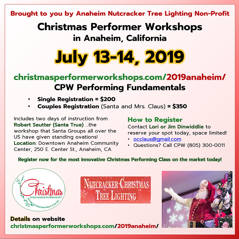 Christmas Performer Workshops
