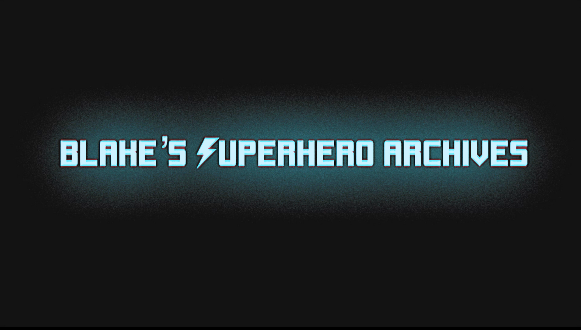 Blake's Superhero Archives Title
