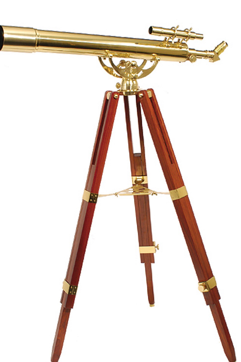FINE BRASS™ 80900 TRADITIONAL SOLID BRASS TELESCOPE