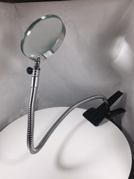 Flexi Arm Clamp on Magnifier
