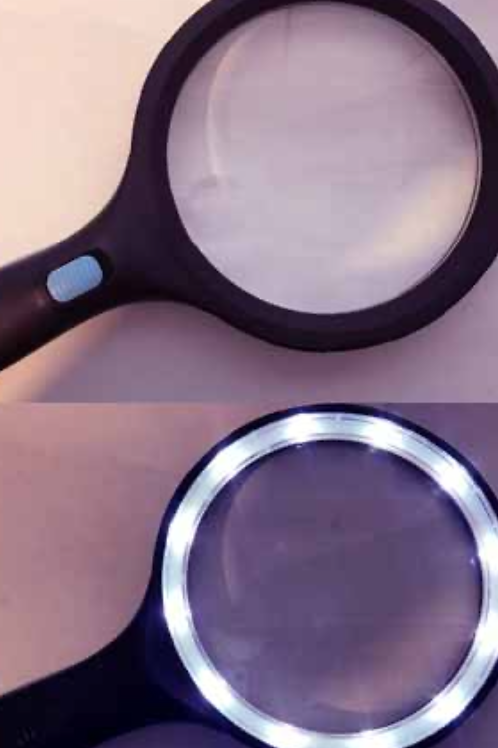 120mm Magnifier with 10 Bright LED lights