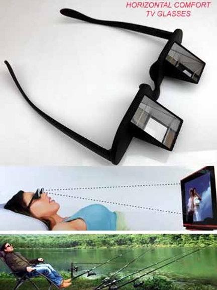 Horizontal TV Glasses