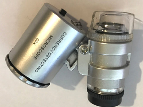 Pocket Microscope with LED illumination