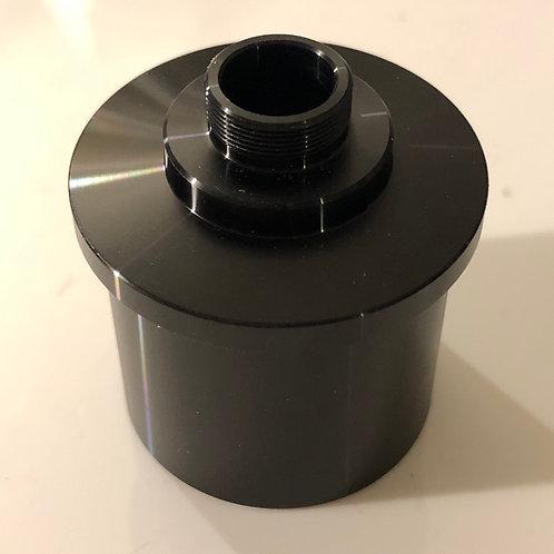 Webcam adaptor for astronomical telescopes