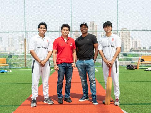 Sachin Tendulkar & Brian Lara x Selection Day