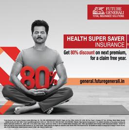 Anil Kapoor for Future Generali Insurance India