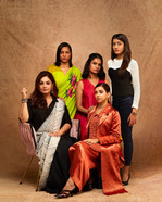 Pooja, Sahana, Amruta, Plaubita and Aadhya