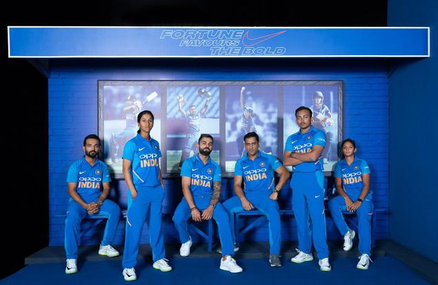 Nike ODI Jersey Launch