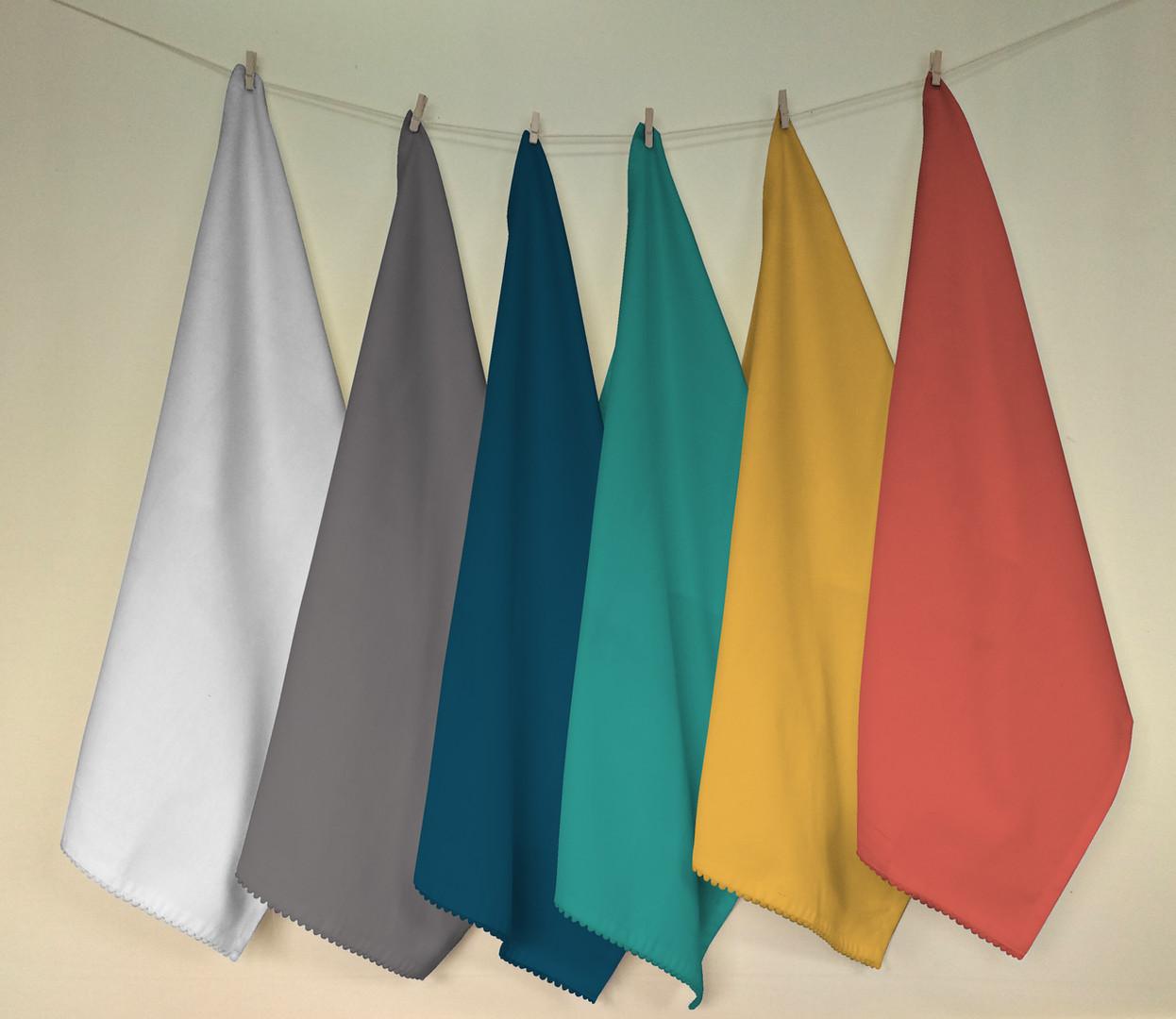 Solid napkins (Multicolour)