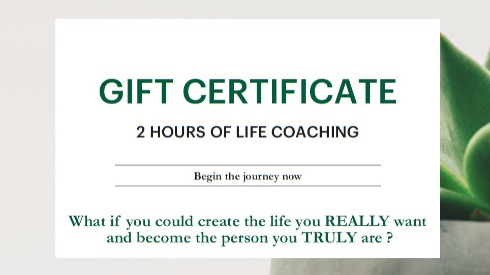 Gift Certificate 2 hours