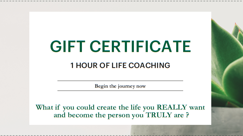 Gift Certificate 1 hour