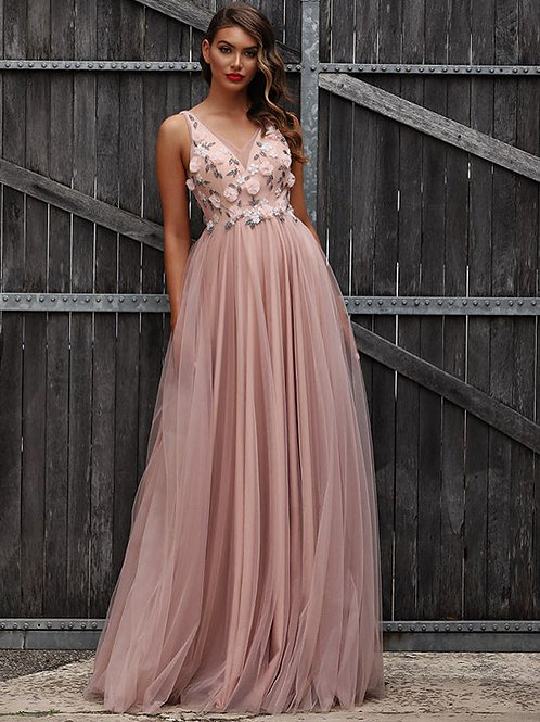 Jadore JX3030 Dusty Pink gown