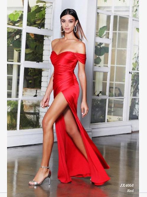 Jadore JX4058 Red Gown