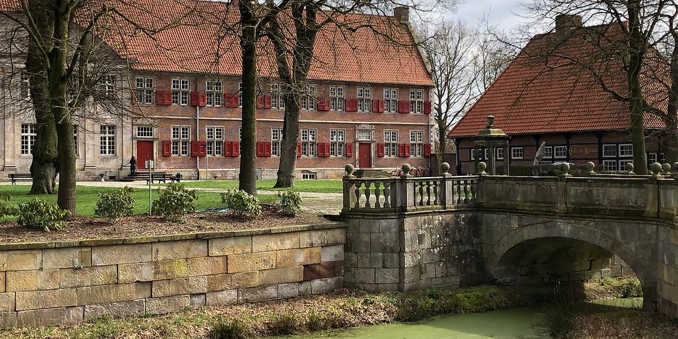 Schweigeseminar im Geiste des Zen, Kloster Frenswegen Nordhorn, Nähe holl. Grenze, Okt. 2020