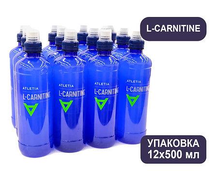 Упаковка ATLETIA L-CARNITINE. ПЭТ. 500 мл