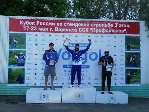 Кубок России по стендовой стрельбе 3-й этап прошел при содействии природной воды Vorgol.
