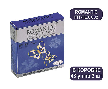 Коробка Презервативов ROMANTIC FIT-TEX 002 3 PCS