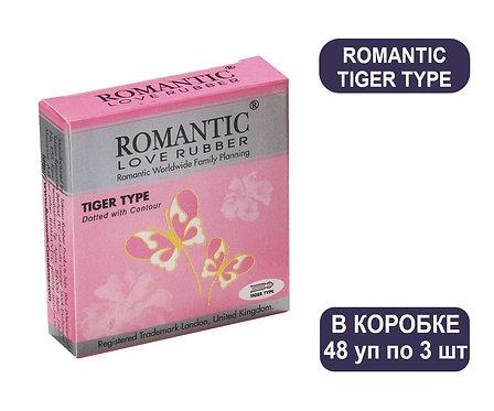 Коробка Презервативов ROMANTIC TIGER TYPE 3 PC