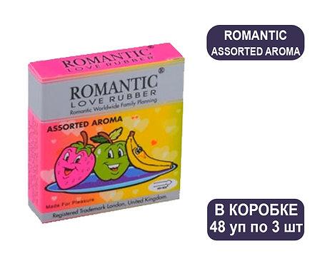Коробка Презервативов ROMANTIC ASSORTED AROMA 3 PCS