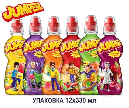 Упаковка Jumper. ПЭТ. 330 мл. (6 вкусов)