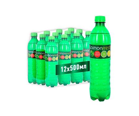 Упаковка Laimon Fresh. ПЭТ. 500 мл.