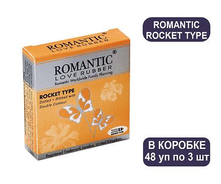 Коробка Презервативов ROMANTIC ROCKET TYPE 3 PCS